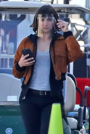 Ana de Armas - on the set of 'The Gray Man' in Los Angeles