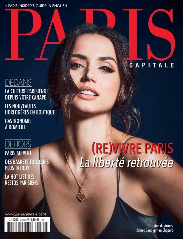 Ana De Armas - Paris Capitale Magazine (May 2020 issue)