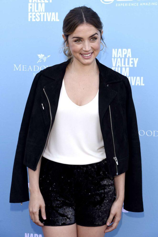 Ana de Armas - Rising Star Showcase during 7th Annual Napa Valley Film Festival