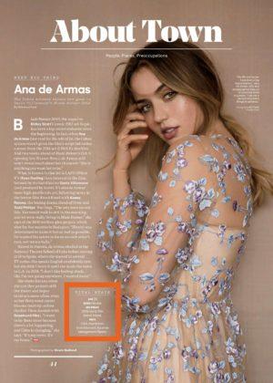 Ana de Armas - The Hollywood Reporter (October 2017)