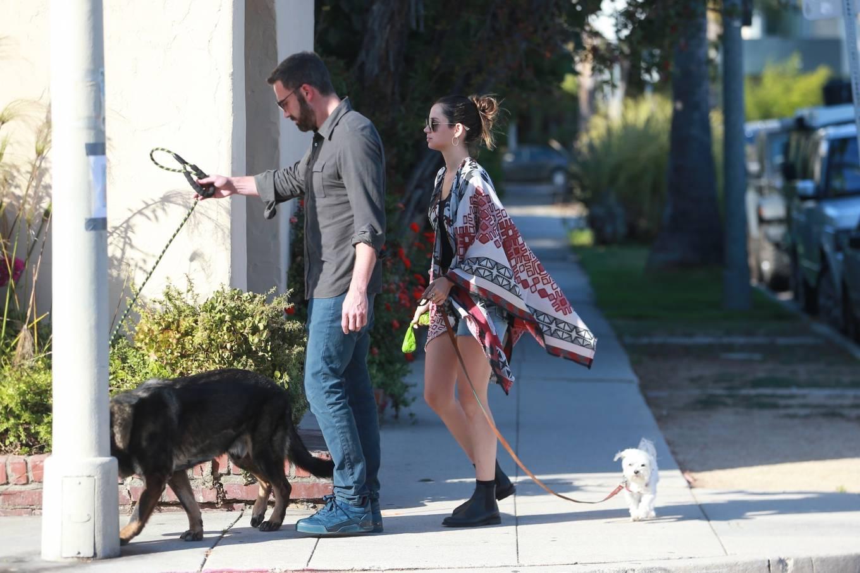 Ana de Armas 2020 : Ana De Armas with Ben Affleck – Spotted in neighborhood in Santa Monica-03