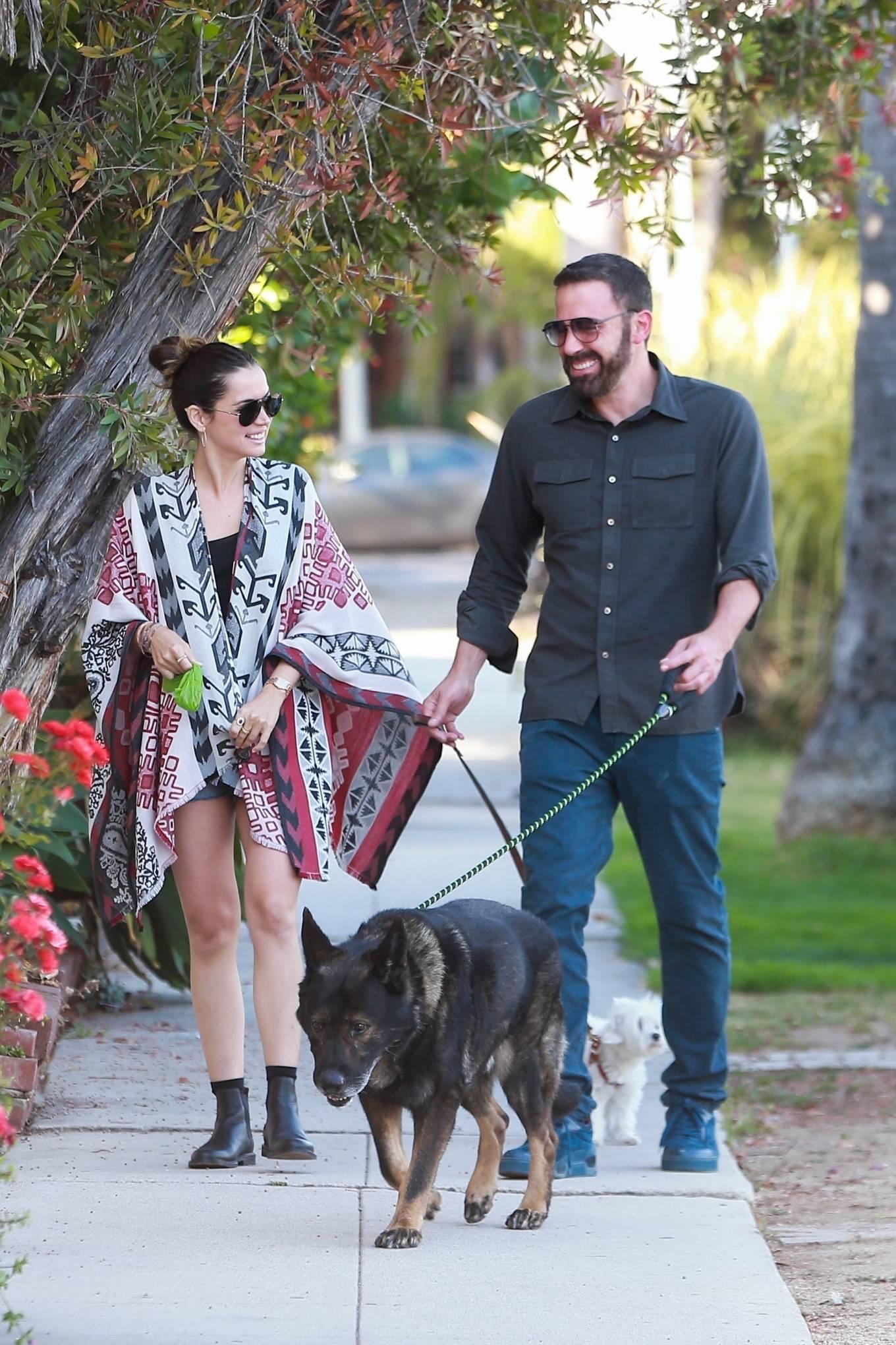 Ana de Armas 2020 : Ana De Armas with Ben Affleck – Spotted in neighborhood in Santa Monica-05