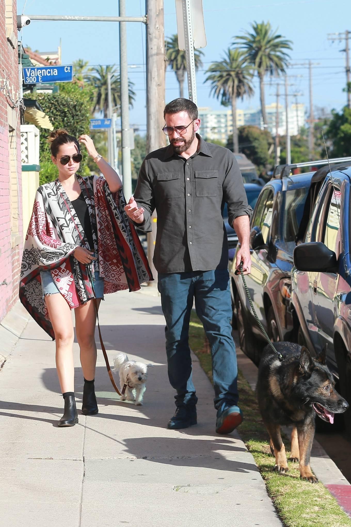 Ana de Armas 2020 : Ana De Armas with Ben Affleck – Spotted in neighborhood in Santa Monica-13