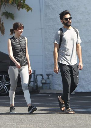 Ana De Armas with boyfriend out in Los Angeles