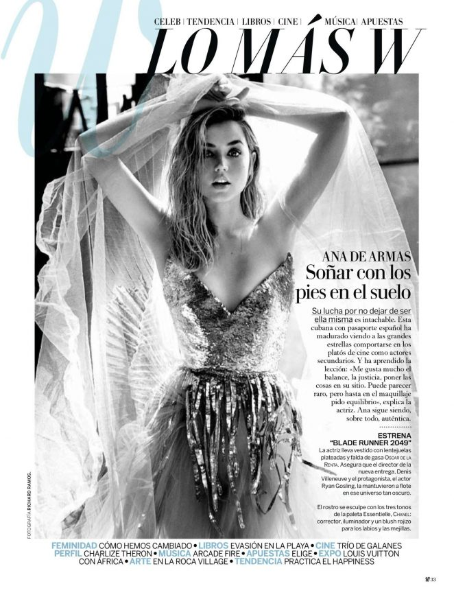 Ana de Armas - Woman Madame Figaro (August 2017)