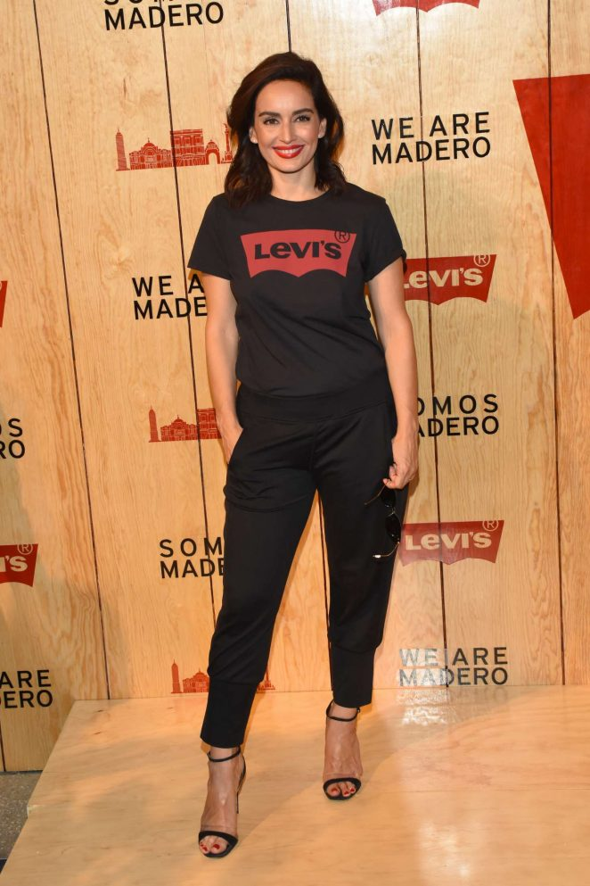 Ana de la Reguera - Levi's Store Opening in Mexico City