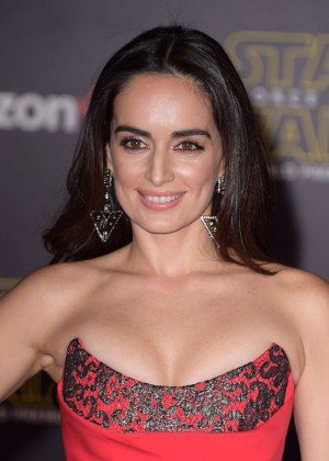 Ana de la Reguera - 'Star Wars: The Force Awakens' Premiere in Hollywood