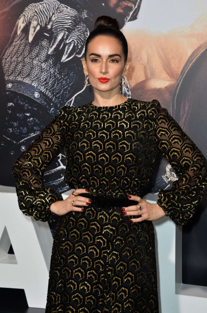 Ana De La Reguera - 'The Great Wall' Premiere in Hollywood