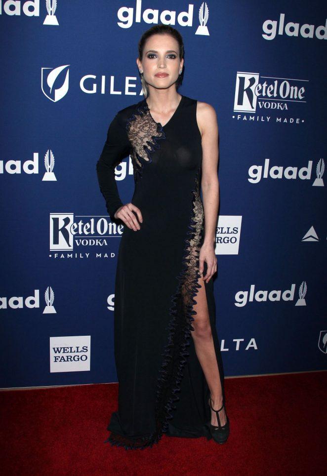 Ana Fernandez - 2018 GLAAD Media Awards in Los Angeles