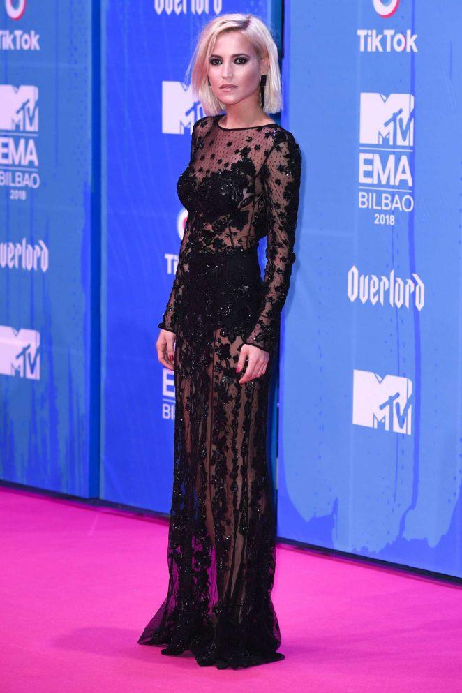 Ana Fernandez - 2018 MTV Europe Music Awards in Bilbao