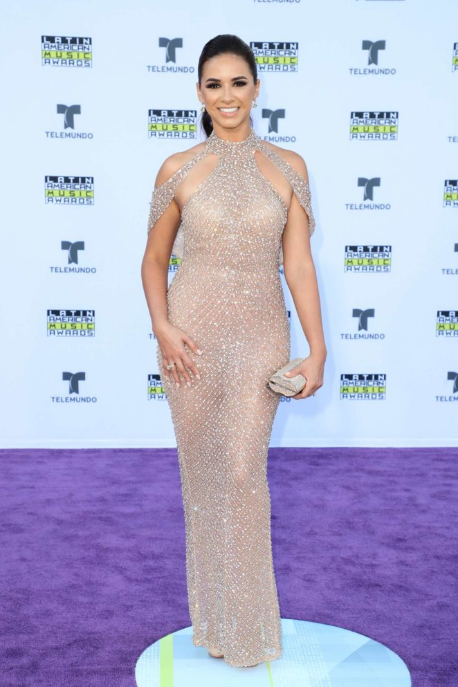 Ana Flores Jurka - Latin American Music Awards 2017 in Los Angeles