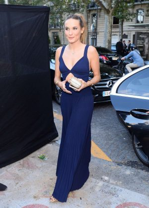 Ana Girardot - Arriving at Vogue Dinner Party in Paris