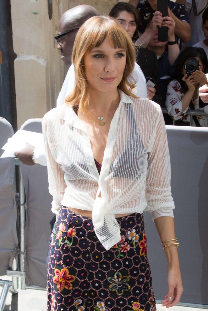 Ana Girardot - Christian Dior Haute Couture Show 2019 in Paris