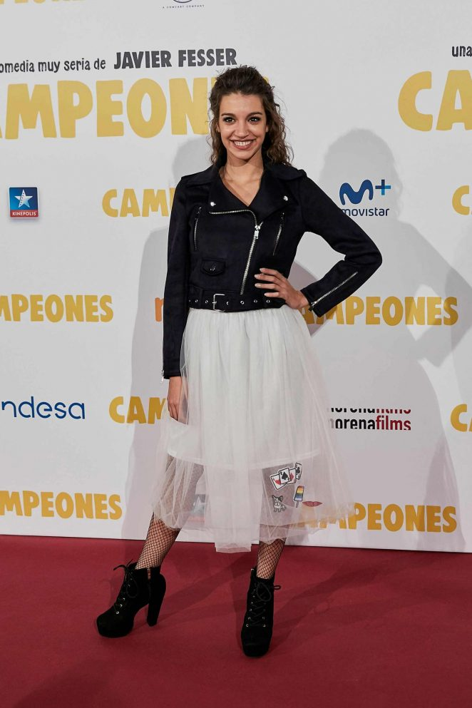 Ana Guerra - 'Campeones' Premiere in Madrid