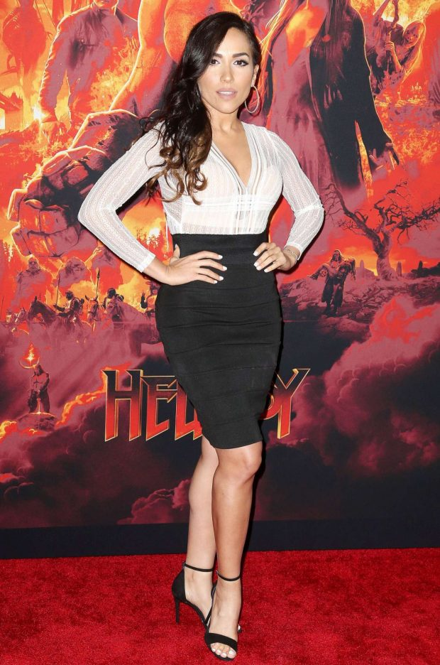 Ana Isabelle - 'Hellboy' Premeire in New York
