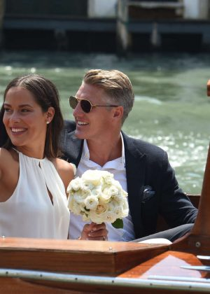 Ana Ivanovic and Bastian Schweinsteiger gets married in Venice