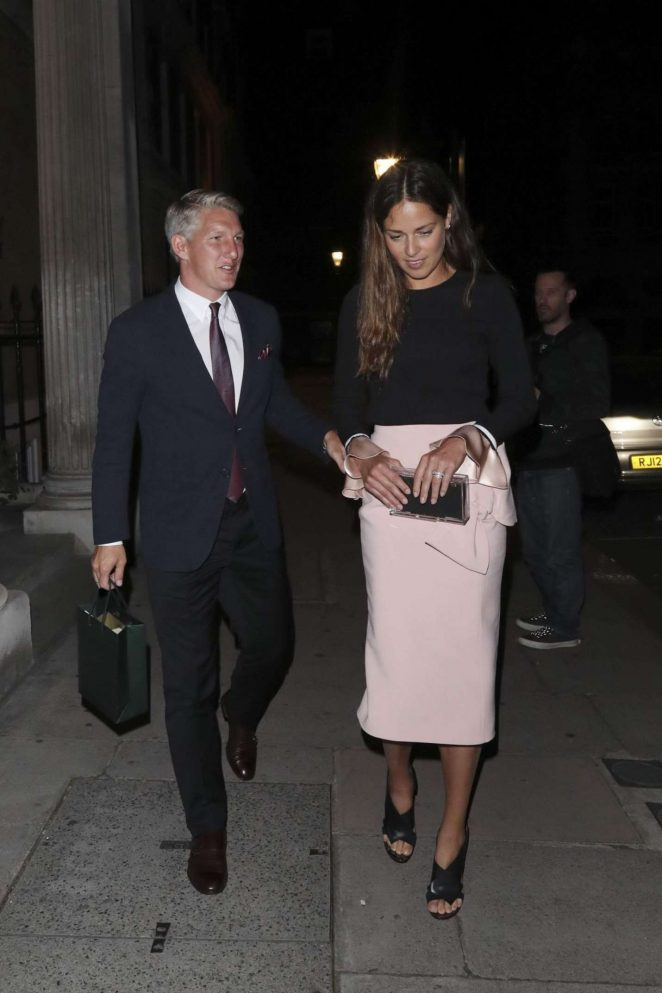 Ana Ivanovic and Bastian Schweinsteiger Night Out in London