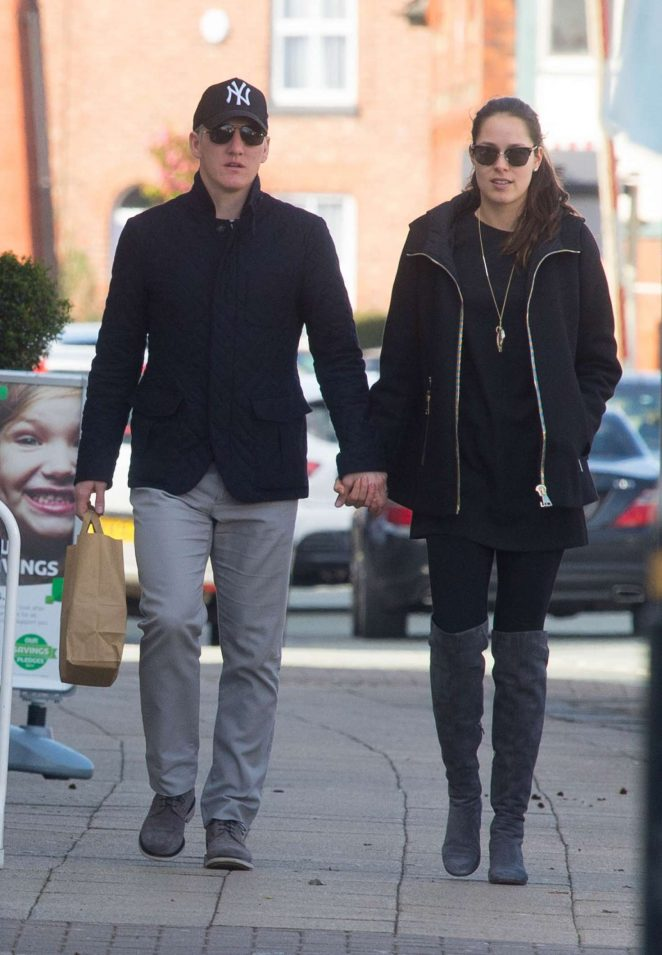 Ana Ivanovic and Bastian Schweinsteiger out in Cheshire