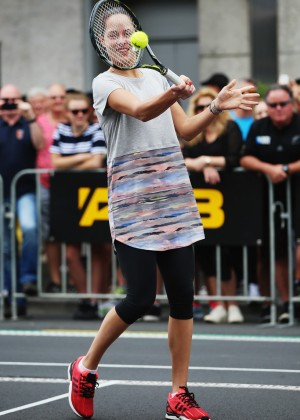 Ana Ivanovic - ASB Classic Newmarket Exhibition Match in Auckland