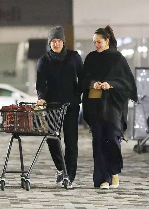 Ana Ivanovic at a local supermarket in Cheshire
