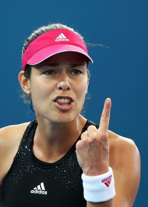 Ana Ivanovic Semi final of the Brisbane International 2015