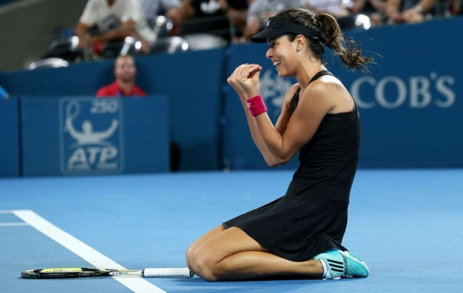 Ana Ivanovic - Final Brisbane International 2015
