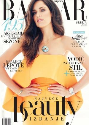 Ana Ivanovic - Harper's Bazaar Serbia Cover (May 2015)