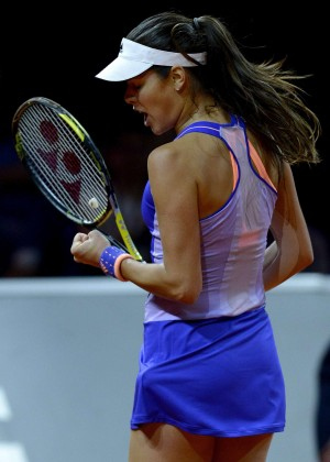 Ana Ivanovic - Porsche Tennis Grand Prix in Stuttgart Day2