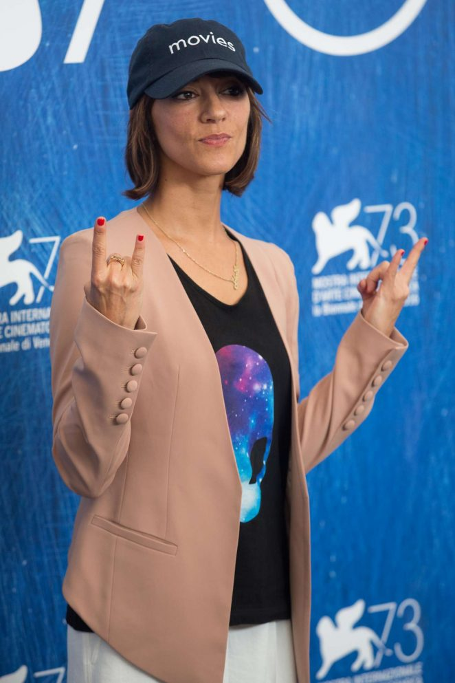 Ana Lily Amirpour - 'The Bad Batch' Photocall at 73rd Venice Film Festival in Venice