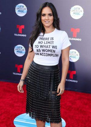 Ana Lorena Sanchez - 2018 Latin American Music Awards in Los Angeles