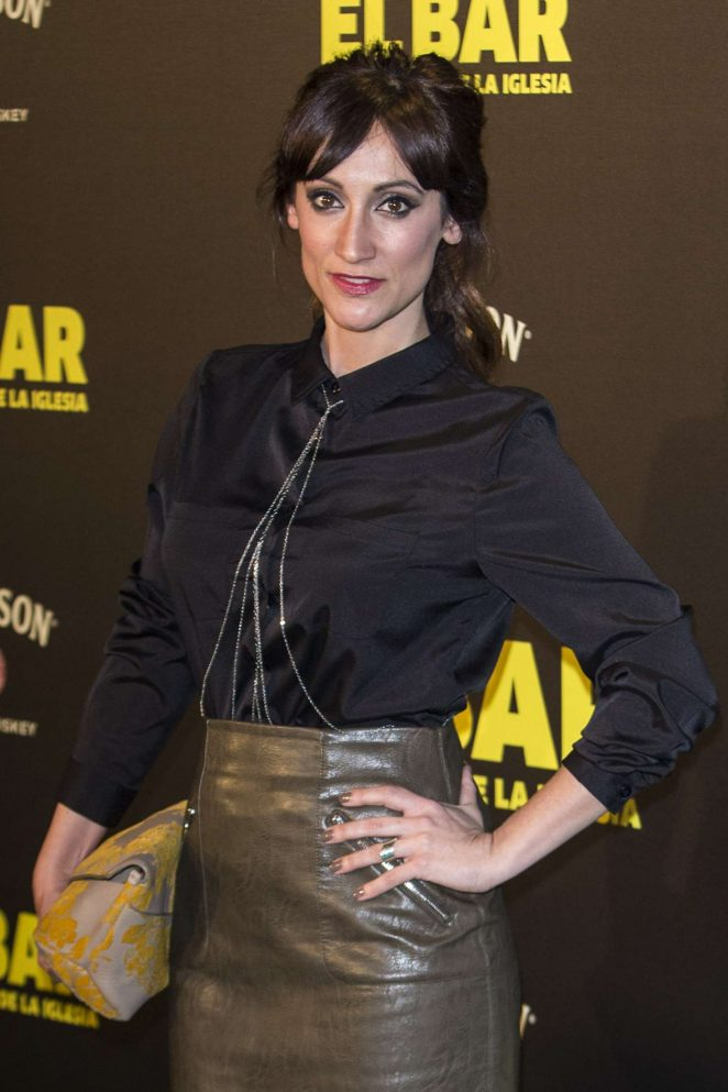 Ana Morgade - 'El Bar' Premiere in Madrid