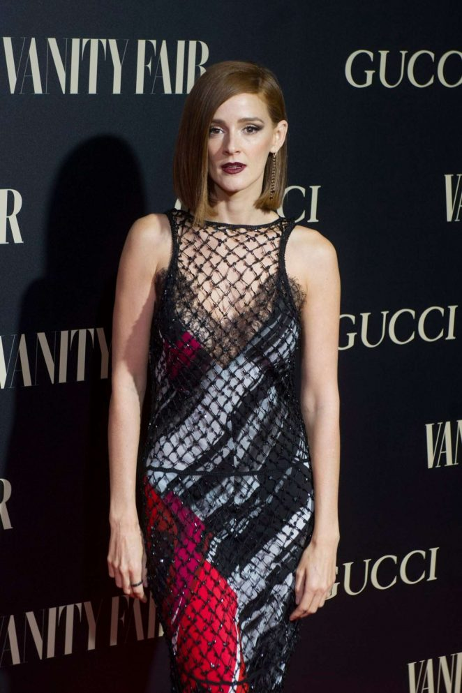 Ana Polvorosa - Vanity Fair Personality of the Year Awards 2018 in Madrid