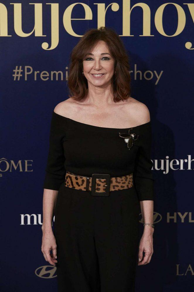 Ana Rosa Quintana – Mujer Hoy Awards in Madrid