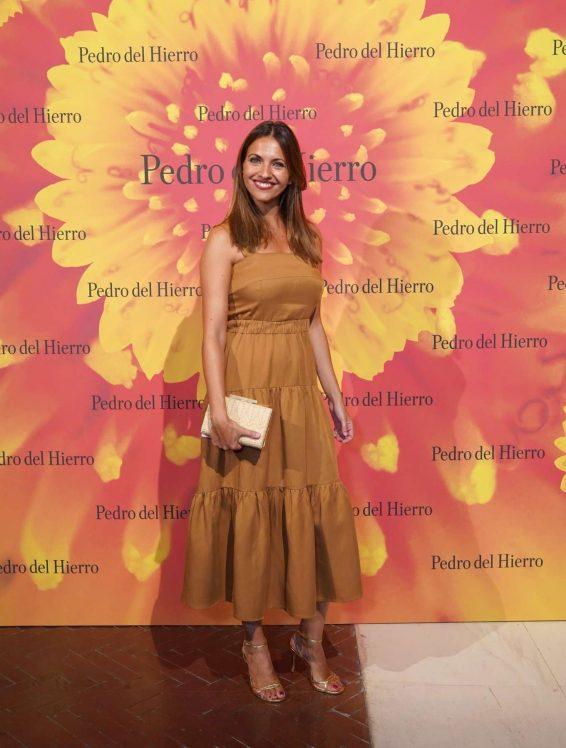 Ana Ruiz - Pedro del Hierro Fashion Show - Mercedes Benz Fashion Week SS 2020 in Madrid