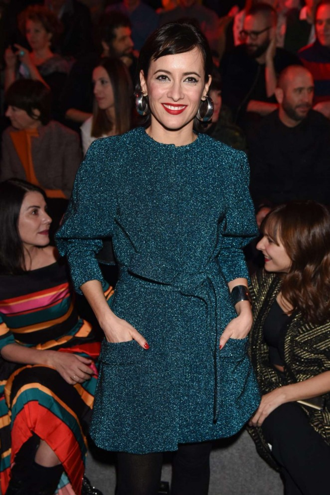 Ana Turpin - Juanjo Oliva 2016 Fashion Show in Madrid
