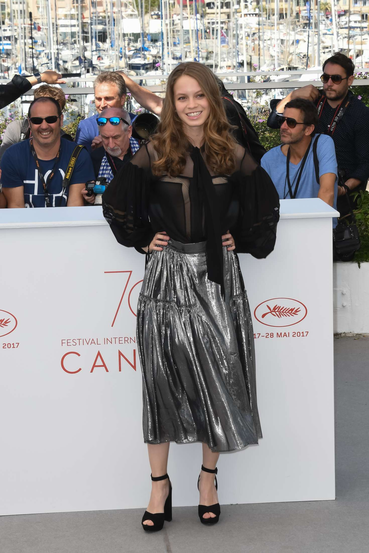 Ana Valeria Becerril 2017 : Ana Valeria Becerril: Aprils Daughter Photocall at 70th Cannes Film Festival -05