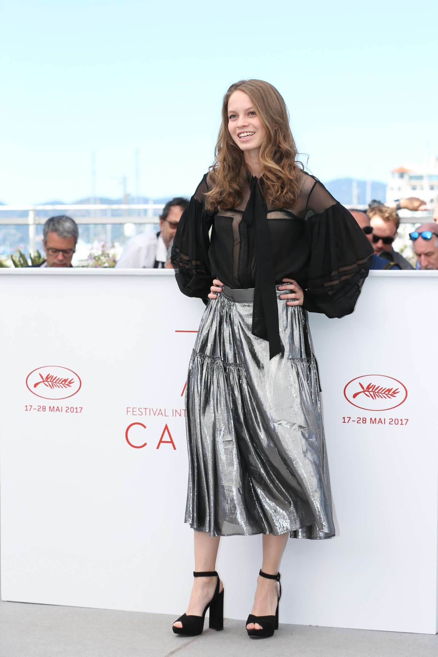 Ana Valeria Becerril 2017 : Ana Valeria Becerril: Aprils Daughter Photocall at 70th Cannes Film Festival -32