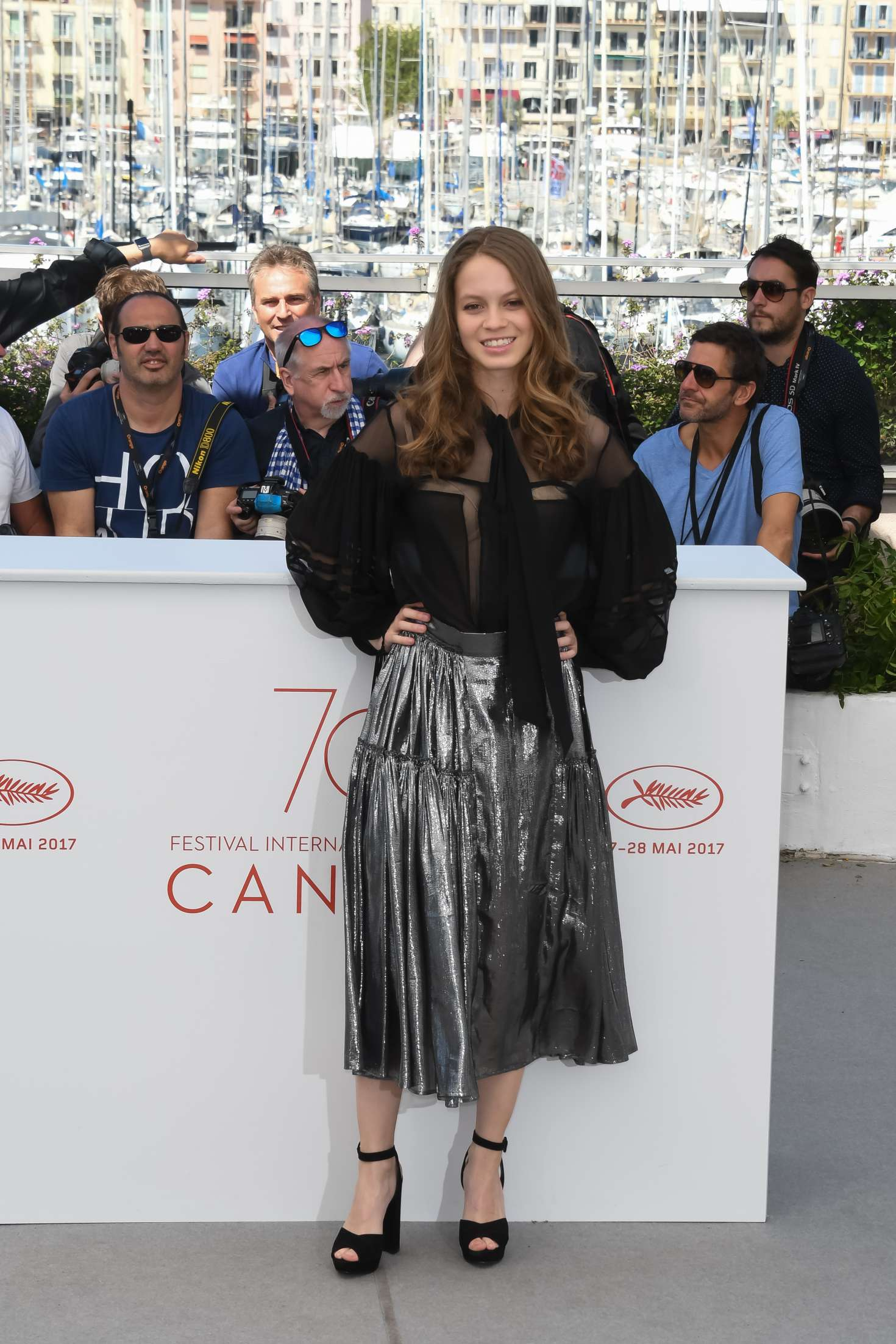 Ana Valeria Becerril 2017 : Ana Valeria Becerril: Aprils Daughter Photocall at 70th Cannes Film Festival -39