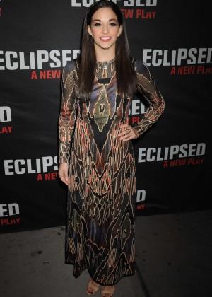 Ana Villafane - Eclipsed Broadway Opening Night in NY