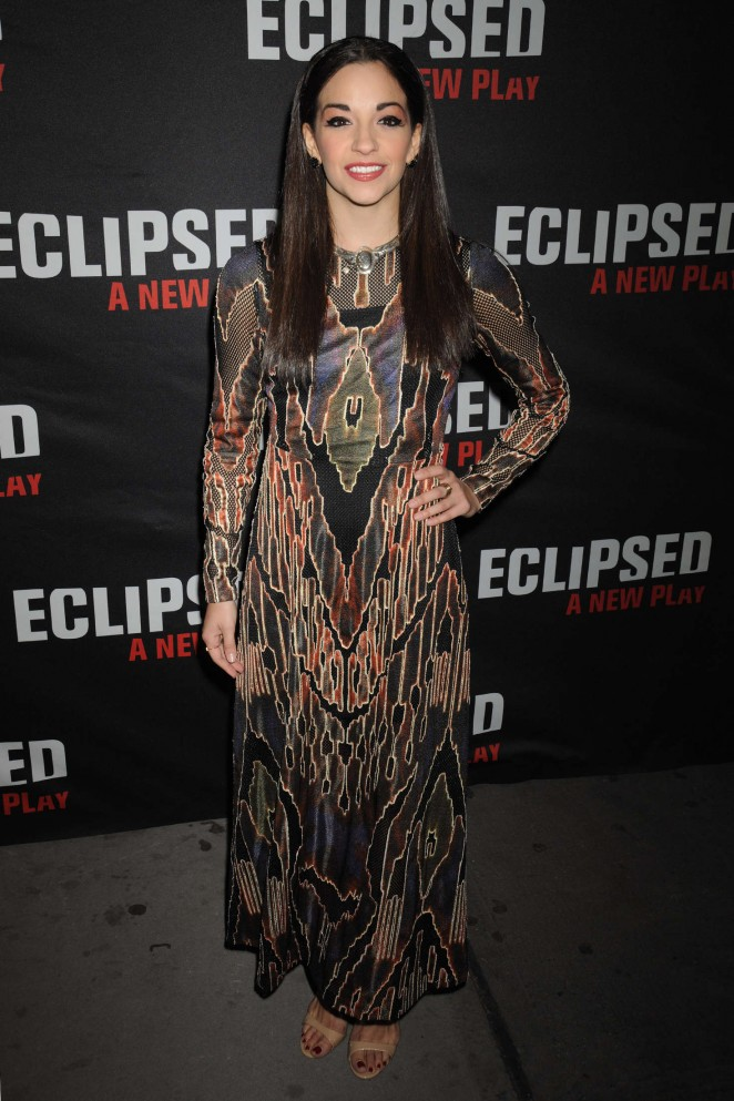 Ana Villafane - Eclipsed Broadway Opening Night in NY