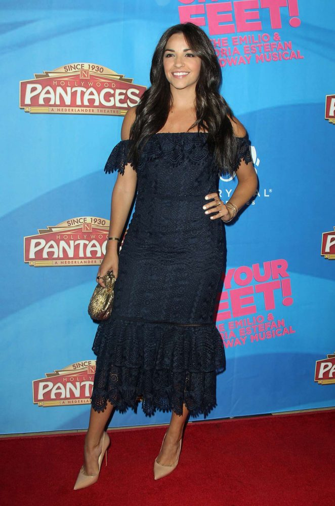 Ana Villafane - 'On Your Feet' Premiere in Hollywood