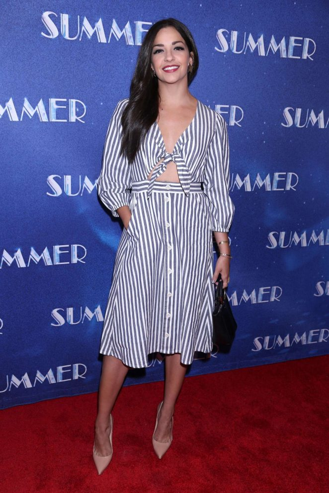 Ana Villafane - Summer The Donna Summer Musical Opening Night in NY