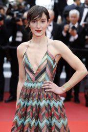 Anais Demoustier - 'A Hidden Life' Premiere at 2019 Cannes Film Festival