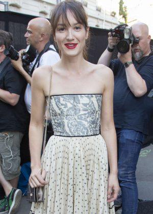 Anais Demoustier - Arriving at Vogue Dinner Party in Paris