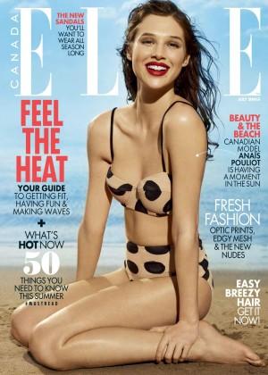 Anais Pouliot - Elle Canada Magazine (July 2015)