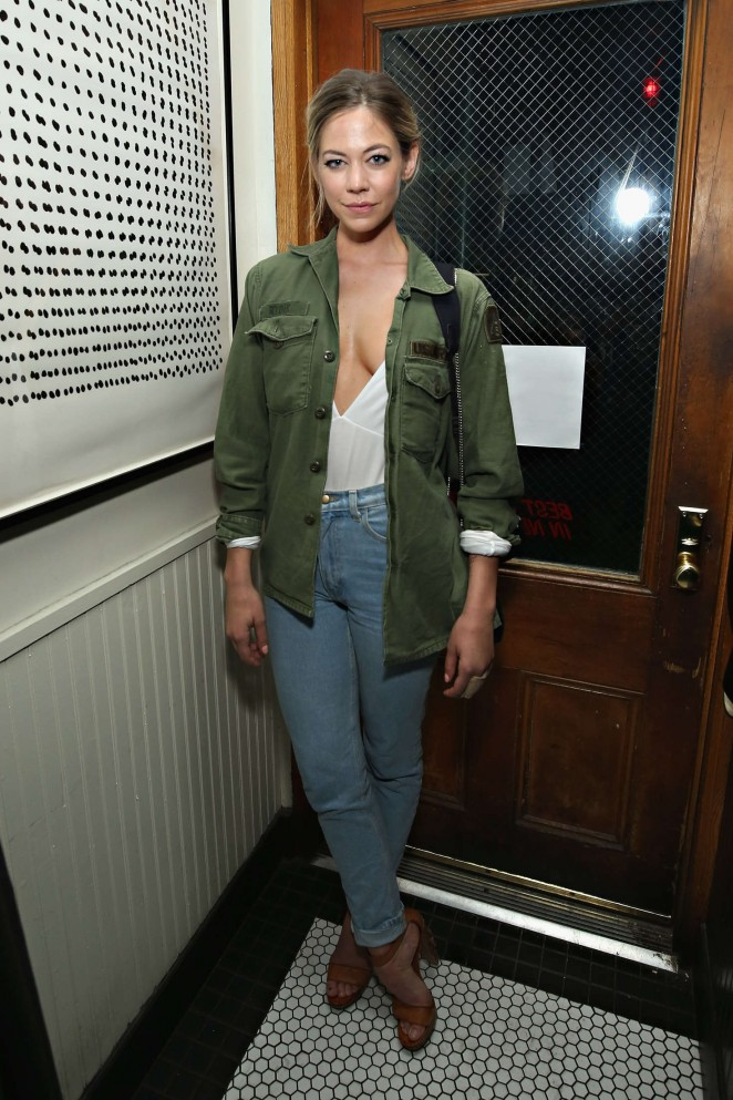 Analeigh Tipton - 'Vincent N Roxxy' After Party at the Tribeca Film Festival 2016 in NY