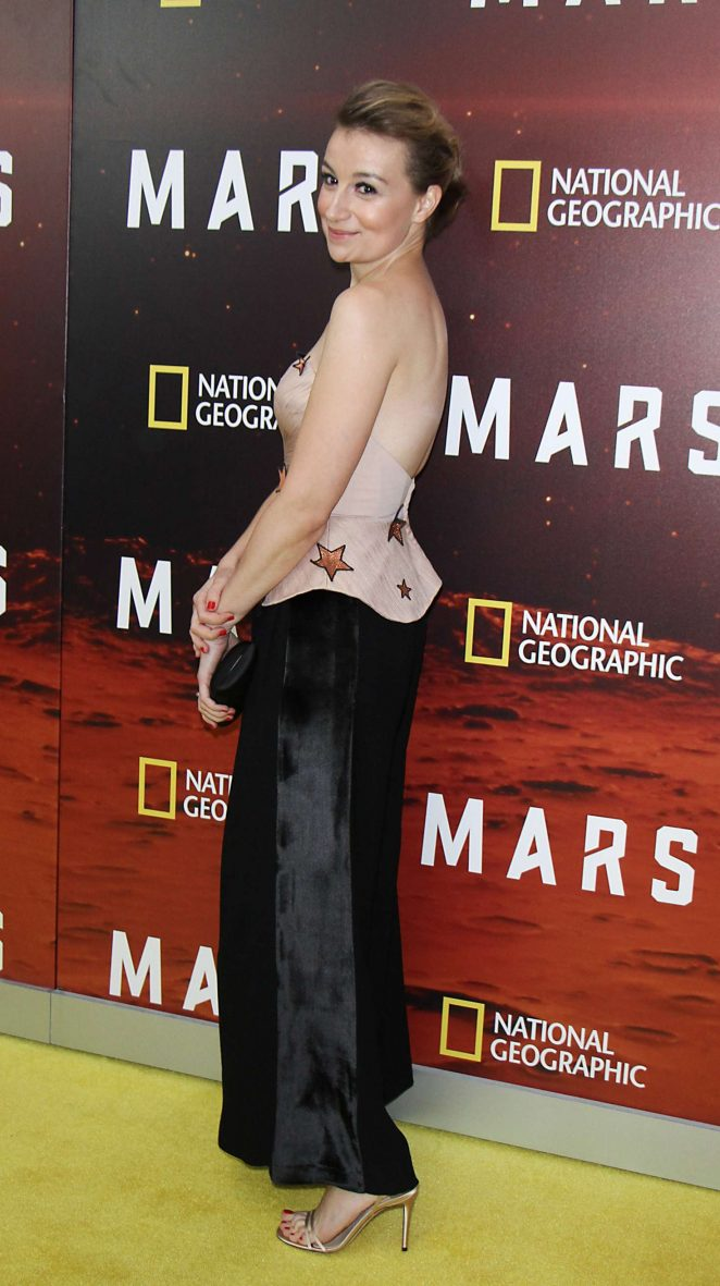 Anamaria Marinca: National Geographic Presents Mars Epic Six Part Series Premiere -04