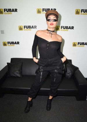 Anamelia Silva on Fubar radio in London