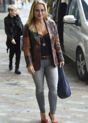 Anastacia in Tight Jeans at BBC Breakfast in Manchester