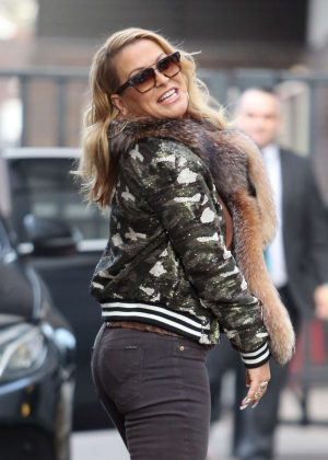 Anastacia at ITV Studios in London